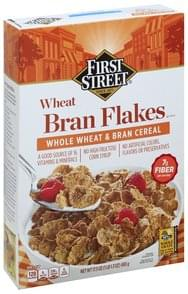 First Street Cereal Wheat Bran Flakes