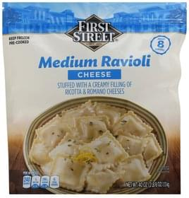 First Street Ravioli Cheese, Medium