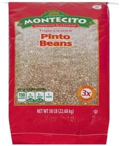Montecito Pinto Beans Triple Cleaned