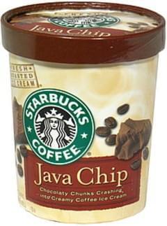 Starbucks Java Chip Ice Cream - 32 oz