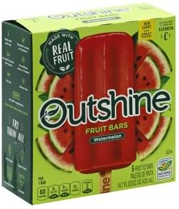 Nestle Fruit Bars Watermelon