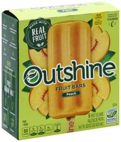 Outshine Fruit Bars Peach