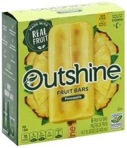 Outshine Fruit Bars Pineapple