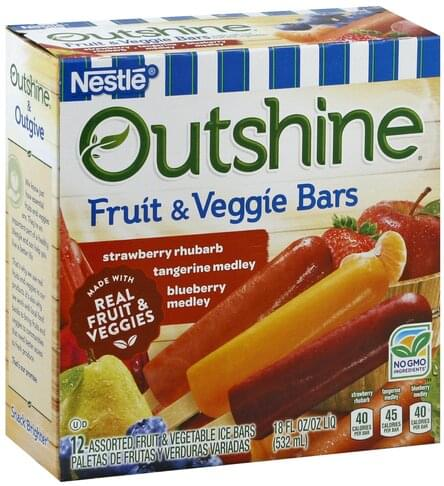 Nestle Assorted Fruit & Veggie Bars - 12 ea