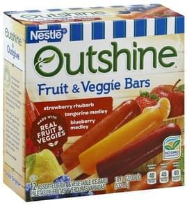 Nestle Fruit & Veggie Bars Assorted
