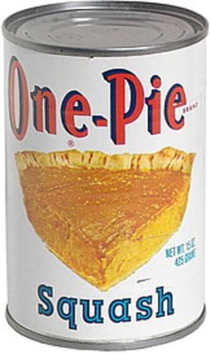 One-Pie Squash Filling - 15 oz