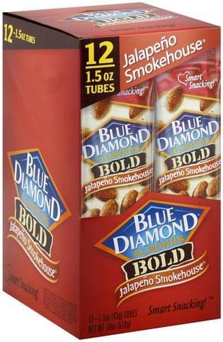 Blue Diamond Bold, Jalapeno Smokehouse