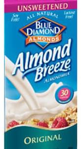 Blue Diamond Almond Breeze Original Unsweetened Almondmilk