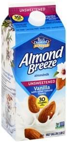 Blue Diamond Almondmilk Unsweetened, Vanilla