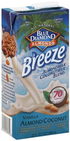 Blue Diamond Almondmilk Coconutmilk Blend, Vanilla Almond Coconut Almond Milk Coconut Milk Blend - 32 oz