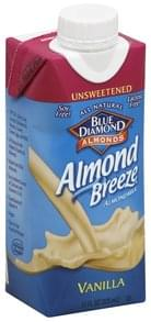 Blue Diamond Almond Milk Unsweetened, Vanilla