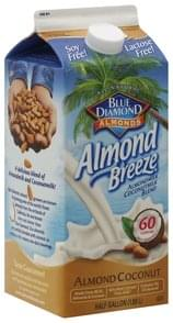 Blue Diamond Almond Milk Blend Almond Coconut