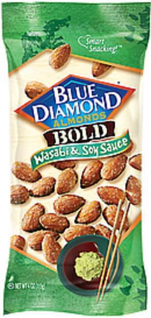 Blue Diamond Almonds Bold Wasabi & Soy