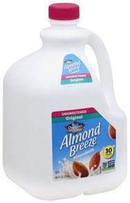 Blue Diamond Almondmilk Unsweetened, Original