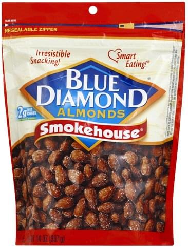 Blue Diamond Smokehouse Almonds - 14 oz