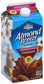 Blue Diamond AlmondMilk Chocolate, Unsweetened