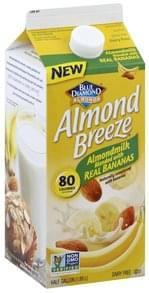 Blue Diamond Almond Milk Blend with Real Bananas
