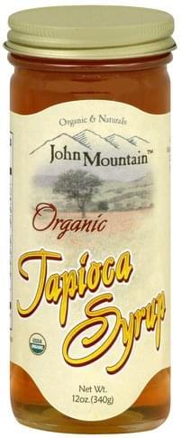 John Mountain Organic Tapioca Syrup - 12 oz