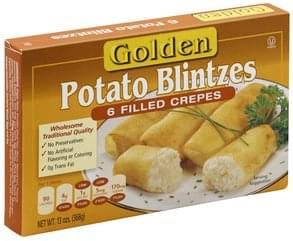 Golden Blintzes Potato