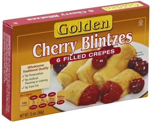 Golden Cherry Blintzes - 6 ea