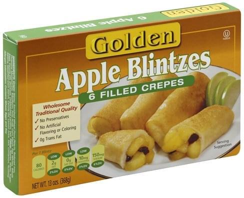 Golden Apple Blintzes - 6 ea