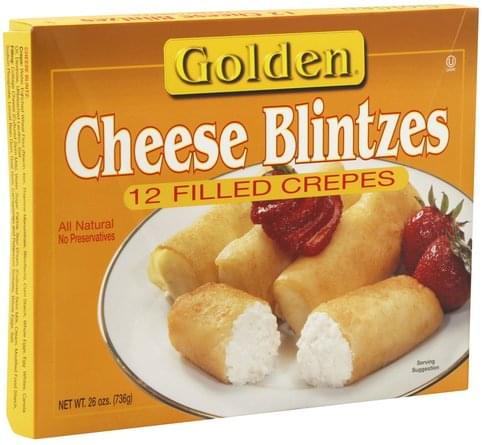 Golden Cheese Blintzes - 12 ea