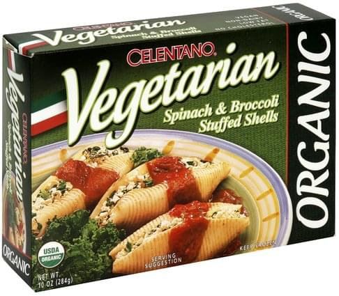 Celentano Spinach & Broccoli Stuffed Shells - 10 oz