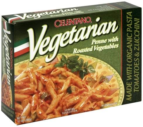 Celentano Penne with Roasted Vegetables - 10 oz