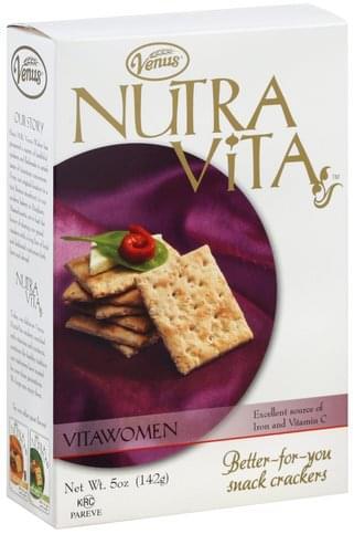 Venus VitaWomen Crackers - 5 oz
