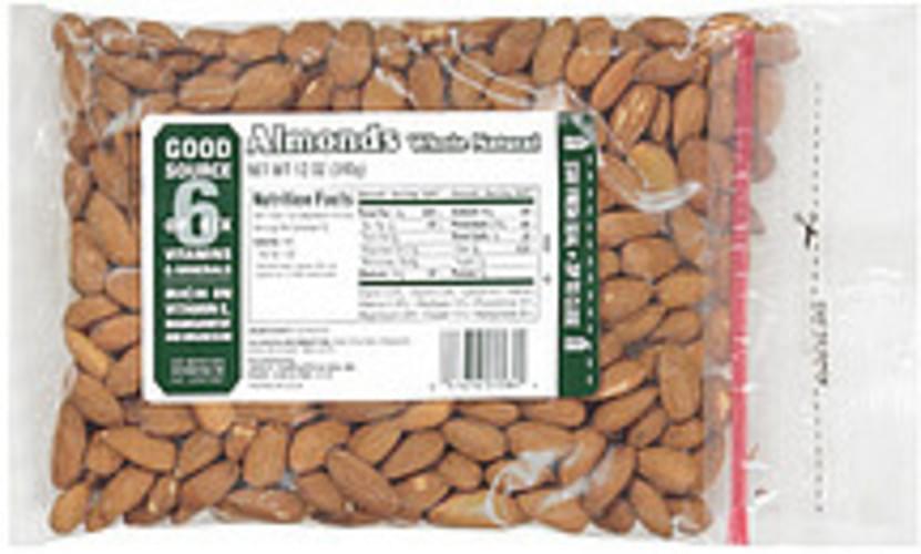 Jb Sanfilippo & Son Whole Natural Almonds - 12 oz