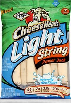 Frigo® Cheese Heads® String Cheese Light Pepper Jack