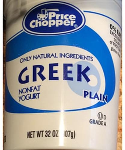 Price Chopper Plain Greek Yogurt - 227 g