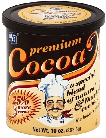 Saco Premium Cocoa - 10 oz