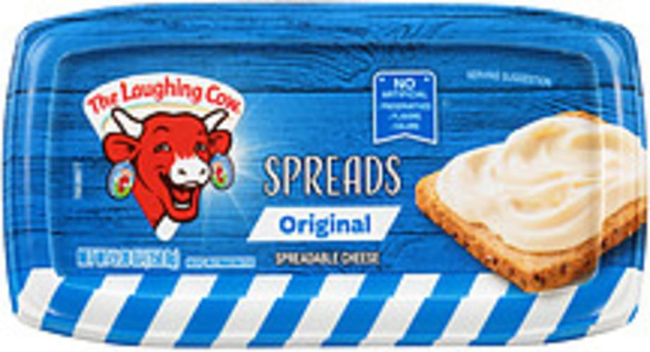The Laughing Cow Original Spreadable The Laughing Cow Original Spreadable Cheese - 0