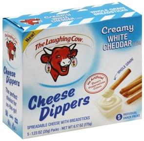 The Laughing Cow Cheese Dippers Creamy White Cheddar Flavor