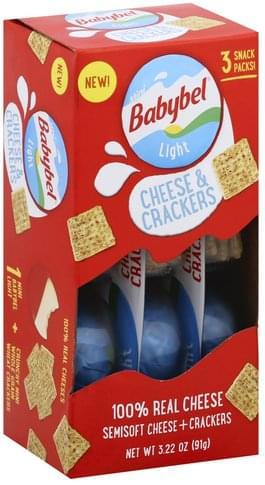 Babybel Light, Mini, Snack Packs