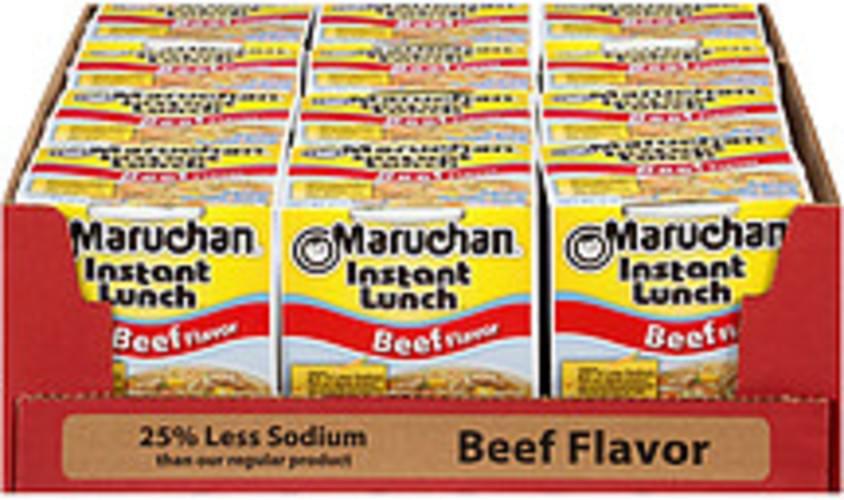 Maruchan Instant Lunch Beef Flavor 25