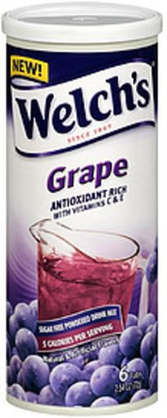 Welch's Sugar Free Powdered Drink Mix Grape