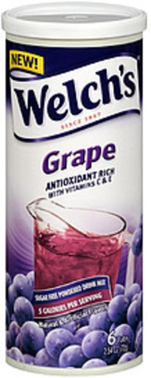 Welch's Grape Sugar Free Powdered Drink Mix - 72 g