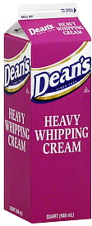 Deans Heavy Whipping Cream - 1 QT