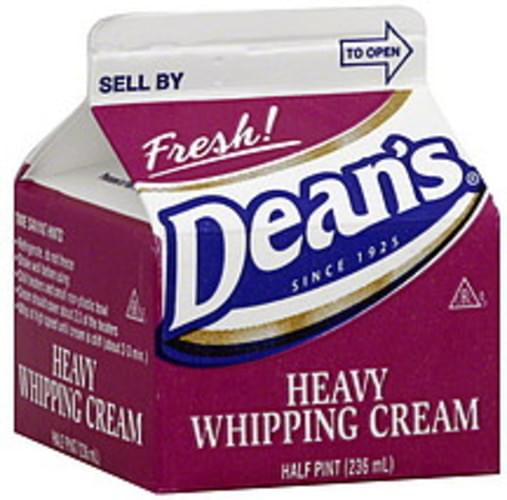 Deans Heavy Whipping Cream - 0.5 pt