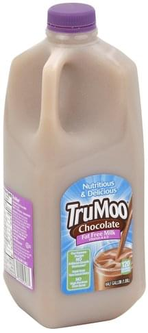 Trumoo Fat Free, Chocolate Milk - 0.5
