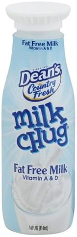 Deans Fat Free Milk - 14 oz