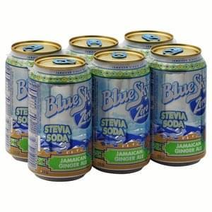 Blue Sky Soda Stevia, Jamaican Ginger Ale