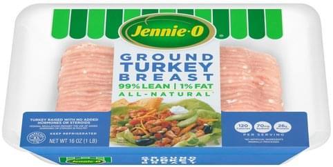 Jennie O Ground Turkey Breast - 16 oz