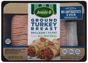 Jennie O Turkey Breast Ground
