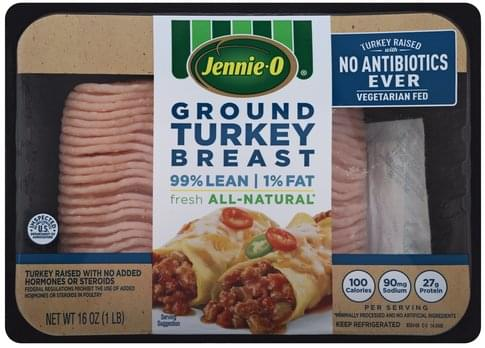 Jennie O Ground Turkey Breast - 16 oz