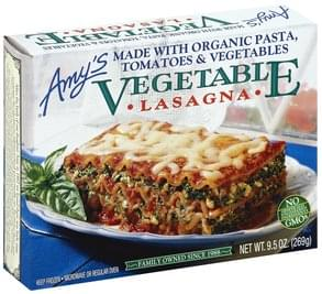 Amys Lasagna Vegetable