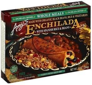 Amys Enchilada Dinner with Spanish Rice & Beans