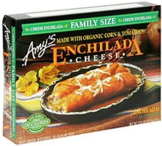 Amys Enchilada Cheese, Family Size